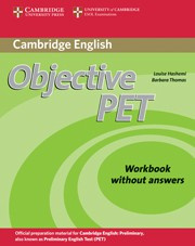Objective PET Second edition Workbook without answers