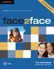 face2face Second edition Pre-intermediate Workbook with Key