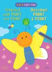 1-2-3 Kids Fun - Tekenen van punt tot punt tot 25 / 1-2-3 Kids Fun - Dessiner de point à point jusqu'a 25 (ZNU)