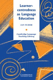 Learner-centredness as Language Education Paperback