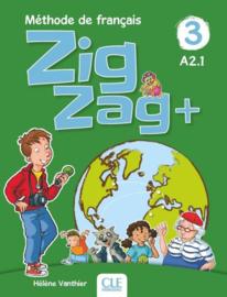 Zigzag Plus Niveau 3 Eleve + Dvd