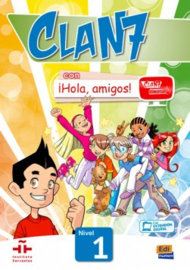 Clan 7 con ¡Hola, amigos! 1 - Libro del alumno
