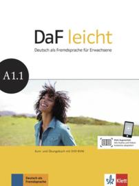 DaF leicht A1.1 Studentenboek en Übungsbuch met DVD-ROM