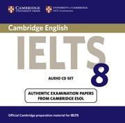 Cambridge IELTS 8 Audio CDs (2)