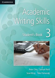 Academic Writing Skills Level 3 Student's Book