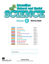 Macmillan Natural and Social Science Level 6 Activity Book Pack