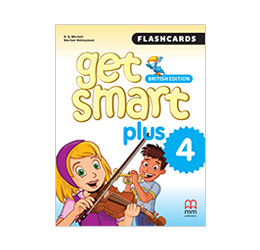 Get Smart Plus 4 Flashcards British Edition