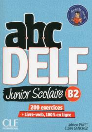 ABC DELF Junior scolaire - Niveau B2 - Livre + DVD + Livre-web - Nouvelle édition