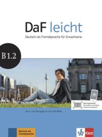 DaF leicht B1.2 Studentenboek en Übungsbuch met DVD-ROM