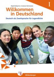 Willkommen in Deutschland – Deutsch als Zweitsprache für Jugendliche Heft I Übungsheft I met Lösungen