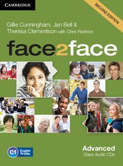 face2face Second edition Advanced Class Audio CDs (3)