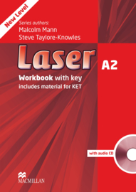 Laser 3rd edition Laser A2  Workbook with key & CD Pack