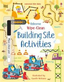 Wipe-clean building site activities