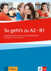 So geht's zu A2 - B1 Übungsbuch met 2 Audio-CDs
