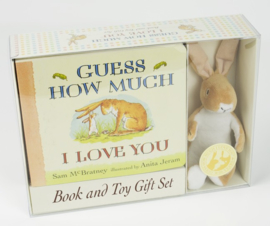 Guess How Much I Love You Board Book And Soft Toy Gift Set (Sam McBratney, Anita Jeram)