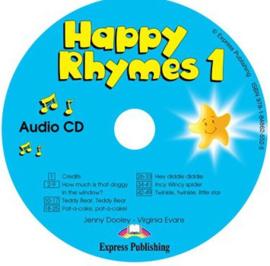 Happy Rhymes 1 Audio Cd International