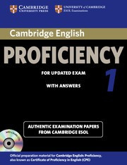 Cambridge English Proficiency 1 for Updated Exam Student's Book Pack (Student's Book with answers and Audio CDs (2))