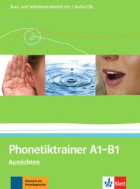 Phonetiktrainer A1-B1 Kurs- und Selbstlernmaterial mit 2 Audio-CDs