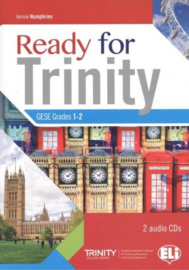 Ready For Trinity 1-2 Level With 2 Audio Cd And Answer Keys