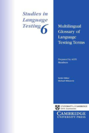 Multilingual Glossary of Language Testing Terms Paperback