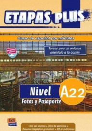 Etapas Plus A2.2. Fotos y Pasaporte - Libro del alumno/Ejercicios + CD