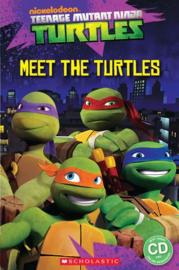 Teenage Mutant Ninja Turtles: Meet the Turtles! + audio-cd (Starter Level)