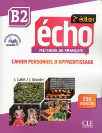 Echo - Niveau B2 - Cahier personnel dapprentissage + livre web - 2ème édition