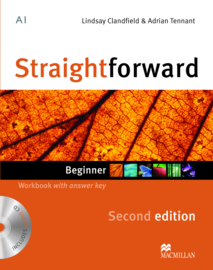 Straightforward 2nd Edition Beginner Level  Workbook & Audio CD with Key