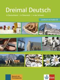 Dreimal Deutsch Buch + Audio-CD