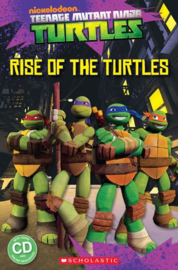 Teenage Mutant Ninja Turtles: Rise of the Turtles + audio-cd (Level 1)