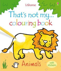That's not my colouring book... Animals