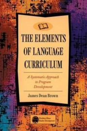 Methodology: Elements Of Language Curriculum