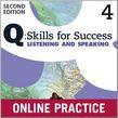 Q Skills For Success Level 4 Listening & Speaking Student Online Practice
