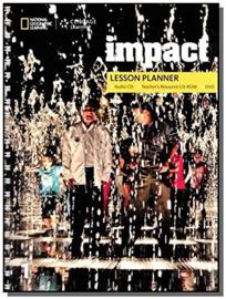 Impact 1 Lesson Planner + Audio Cd + Trcd + Dvd
