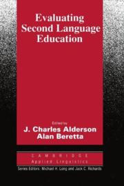 Evaluating Second Language Education Paperback