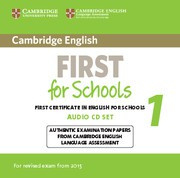 Cambridge English First for Schools 1 Audio CDs (2)