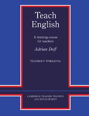 Teach English Teacher's Workbook