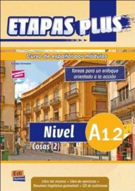 Etapas Plus A1.2 - Libro del alumno/Ejercicios + CD