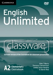 English Unlimited Elementary Presentation Plus DVD-ROM