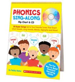 Phonics Sing-Along Flip Chart  CD