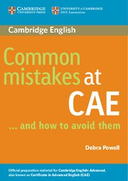Common Mistakes at CAE... and how to avoid them Paperback