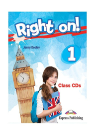 Right On! 1 Class Cds (set Of 3) (international)