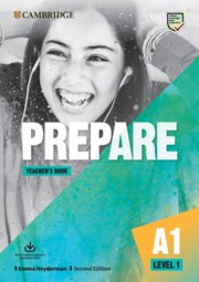 Prepare Second edition Level1 Teacher's Book with Downloadable Resource Pack (Class Audio, Video and Teacher's Photocopiable Worksheets)