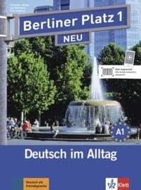 Berliner Platz 1 NEU Studentenboek en Werkboek met 2 Audio-CDs bij het Werkboekteil