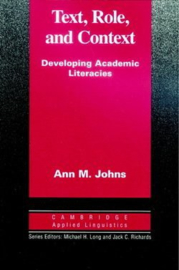 Text, Role and Context Paperback