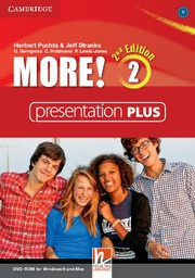 More! Second edition Level2 Presentation Plus DVD-ROM