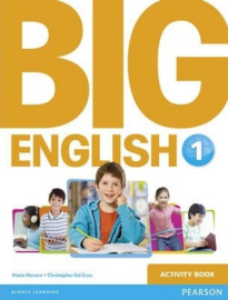 Big English Level 1 Werkboek (Activity Book)