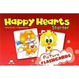 Happy Hearts Starter Flashcards (international)