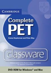 Complete PET Presentation Plus DVD-ROM