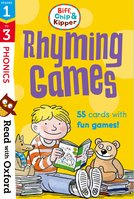Stages 1-3: Biff, Chip and Kipper: Rhyming Games Flashcards